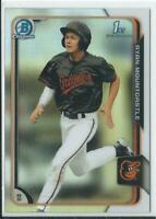 2015 RYAN MOUNTCASTLE Bowman Chrome Draft RC Rookie card REFRACTOR  ORIOLES