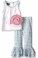 Mud Pie Toddler Little Girl Two Piece Set Sleeveless New Size: 4T