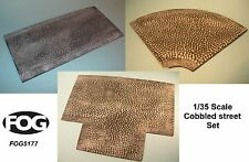 1/35 Scale Cobbled street kit  - resin road sections