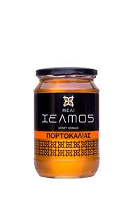 Honig HELMOS 100% griechischer Orangenh aus Lakonia 950gr Orange Honey