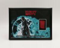 HELLBOY (2004) HELLBOY SKIN PIECE PROP DISPLAY COA RON PERLMAN