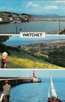Postcard - Watchet - 3 Views
