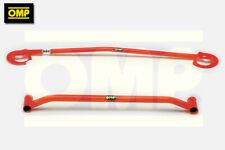 OMP UPPER & LOWER STRUT BRACE PEUGEOT 306 GTi-6 2.0 16v