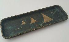 Stiftablage Schale Messing Bronze Ablage