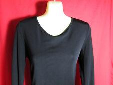 Portmans Design Black Bodycon/Wiggle/Stretch Dress Long Sleeve Size L Party/Club