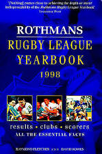 ROTHMANS RUGBY LEAGUE YEARBOOK 1998., Fletcher, Raymond & David Howes., Used; Ve