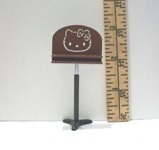 MINIATURE RE-MENT HELLO KITTY MUSIC STAND ACCESSORY DOLLHOUSE FOR 4 INCH DOLLS