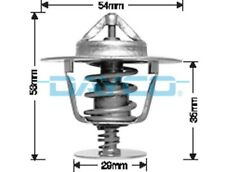 Thermostat for Jeep CJ7 Jun 1981 to 1983 DT24A
