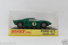 DINKY TOYS 215 FORD GT G.T. RACING CAR MADE IN ENGLAND MECCANO LTD NIB [OR3-13]