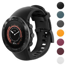 StrapsCo Silicone Rubber Watch Band Strap for Suunto 5