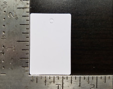 100 Blank White Garment Price Tags Merchandise Jewelry Coupon Small No String