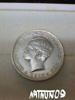 PORTUGAL / 100 REIS - 1910/ D. MANUEL II / SILVER COIN