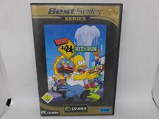 PC Spiel The Simpsons Hit & Run BestSeller Series Sierra 3x CD Rom enthalten