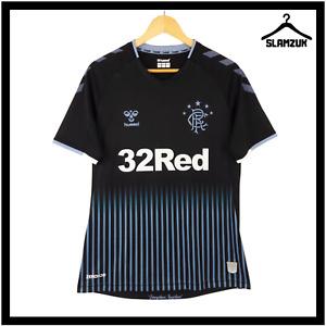 Glasgow Rangers Football Shirt Hummel M Medium Away Soccer Jersey 2019 2020 B56