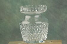 "Waterford Signed Honey Biscuit Jar Cut Diamond Rare Pattern no lid 4 1/8"" x 3"""