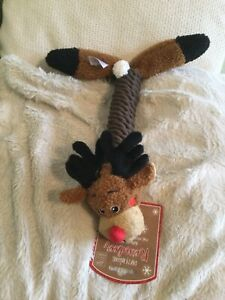 House of paws rope thrower reindeer