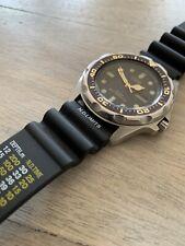 CASIO 343 MMA-200 W Alarm Analog & Digital Vintage Divers 100m