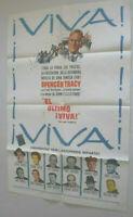 Spanisch, Filmplakat,Plakat,EL ULTIMO I VIVA,  SPENCER TRACY,JEFFRY HUNTER#167