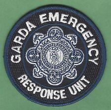 GARDA SIOCHANA IRELAND POLICE EMERGENCY RESPONSE UNIT PATCH