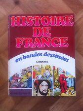 HISTOIRE DE FRANCE EN BANDE DESSINEE INTEGRALE 4 BE/TBE  (C24)