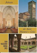 SAN NAZZARO SESIA - ABBAZIA DEI SANTI NAZZARIO E CELSO - 3 VEDUTE - NV
