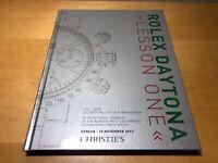 Libro Book CHRISTIE'S - ROLEX DAYTONA - Lesson One - 10 November 2013 Geneva