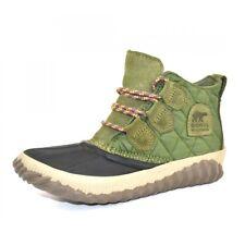 Sorel Out N About Plus Stiefel Damen Stiefeletten Shell Boots Hiker Green