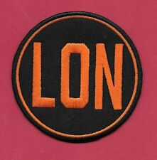 "New San Francisco Giants 'LON Memorial 3 "" Iron on Patch Free Shipping"
