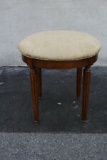 Gorgeous Louis Xvi Style Mahogany Stool # D937 1900-1950 Antiques