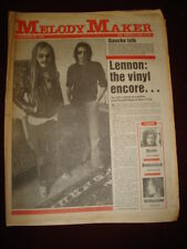MELODY MAKER 1980 DEC 20 JOHN LENNON STEELY DAN QUEEN SPRINGSTEEN WHITESNAKE