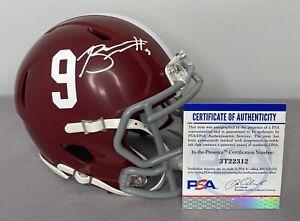 Bryce Young SIGNED Alabama Crimson Tide Mini Helmet w/ PSA COA & Photo Proof
