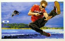Oakley 2007 Keith Lyman wakeboard promotional poster HUGE Flawless New Old Stock