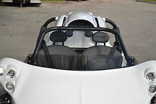 Tinted Short Replacement Campagna T-Rex Wind Deflector - Fits All Years
