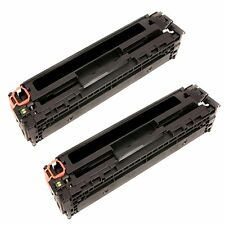 2 pack CB540A Black Toner Fits HP Color Laserjet CM1312nfi CP1215 CP1515 CP1518