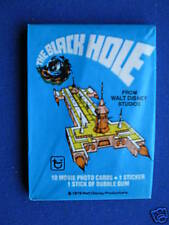 Topps' The Black Hole ' Sealed Unopened Wax Packet 1979