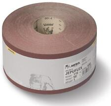 MIRKA JEPUFLEX PLUS RED ABRASIVE ROLL 50M X 115MM 100G 100 GRIT WOOD SANDING