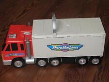 Micro Machines Super Stunt City Truck, LKW, Citybox, aufklappbare Spielstadt