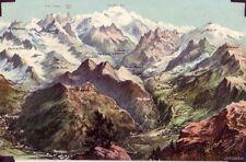 CHAMONIX, FRANCE VALLEY VARIOUS MOUNTAINS MONT BLANC