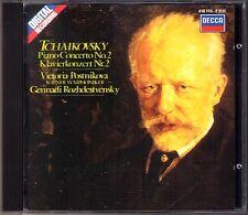 POSTNIKOVA & ROZHDESTVENSKY: TCHAIKOVSKY Piano Concerto No.2 Victoria Grnnadi CD