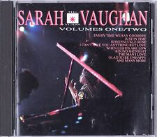 The Roulette Records Years Vol 1 & 2 By Sarah Vaughan On one CD 1991 EMI Jazz