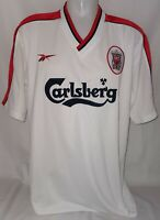 Reebok FC Liverpool The Reds Trikot Gr. XL Saison 1998 - 2000