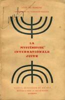 La mystérieuse internationale juive - Léon De Poncins - 2681245