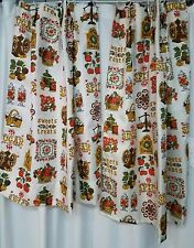 Vintage Sugar and Spice, Sweets and Treats curtains
