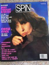 Spin Magazine December 1986 Chrissie Hynde Underground Alternative Music Zine