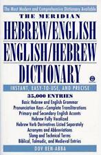 The Meridian Hebrew/English English/Hebrew Dictionary (Reference) (Hebrew Editi