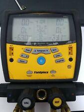Fieldpiece Sm460v Wireless 4 Port Sman Refrigerant Manifold And Micron Gauge