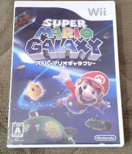 Nintendo Wii Super Mario Galaxy GAME JAPAN JP JPN