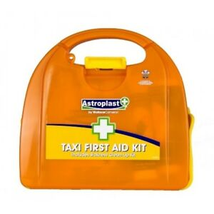 Wallace Cameron Vivo Taxi First Aid Kit Complete Orange Box