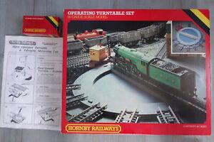 Hornby OO R410 & R411 Operating Turntable & Motorising Kit