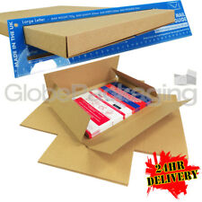 100 X C4 A4 Size Strong Max Large Letter Pip Postal Mailing Boxes 24hrs
